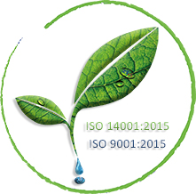 [Translate to English:] QTRADO Logistics ISO 14001:2015 und 9001:2015